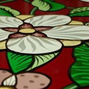Visite commentée de l'Atelier Vitrail de Diana Nguyen Atelier vitrail de Diana Nguyen