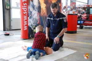 Ateliers d'initiation aux gestes de premiers secours Centre d'incendie et de secours de Troyes
