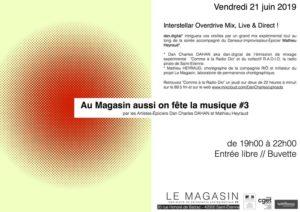 Au Magasin aussi on fête la musique #3 / Interstellar Overdrive Mix