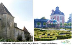 Autour du château disparu: découverte de l'orangerie et des défenses avancées L'Orangerie