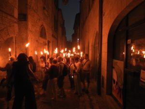 Balade musicale aux flambeaux Place de l'ancien Hôtel-de-Ville