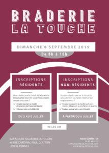 Braderie de La Touche quartier La Touche