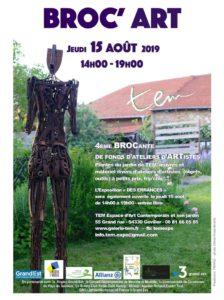 Broc'Art TEM espace d'art contemporain et son jardin