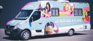 Bus 0-6 ans - PMI : consultations à Tilly-sur-Seulles Cour de l'ancienne école de Tilly-sur-Seulles