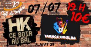 Ce soir nous irons au bal au Café de l'Espace à Flayat (23) Café de l'Espace