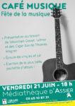 Café musique Médiathèque d'Assier