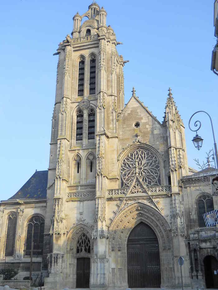 Visite libre de la Cathédrale Saint Maclou Cathédrale Saint-Maclou ...