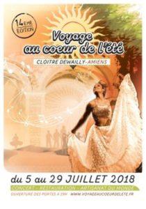 Ce soir nous irons au bal pour un voyage au coeur de l'été à Amiens CLOÎTRE DEWAILLY D'AMIENS