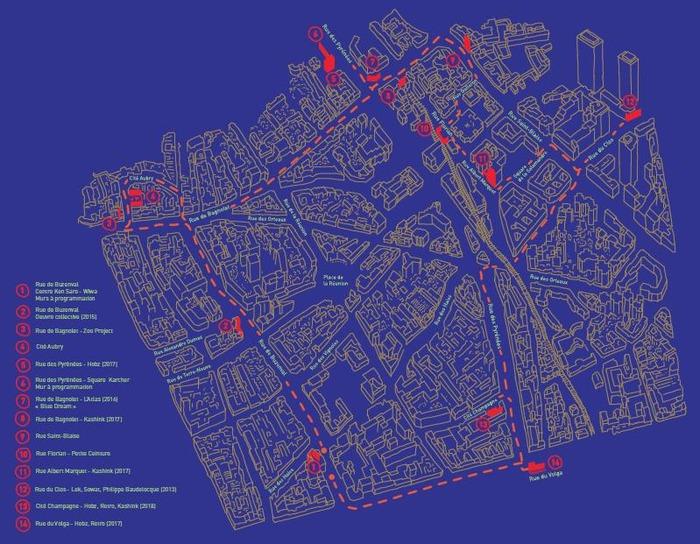 Visite Guidée : Art urbain en langue des signes Centre Paris Anim' Ken Saro Wiwa