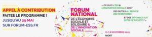 Forum national de l'Economie Sociale et Solidaire et de l'Innovation Sociale Centre ville de Niort