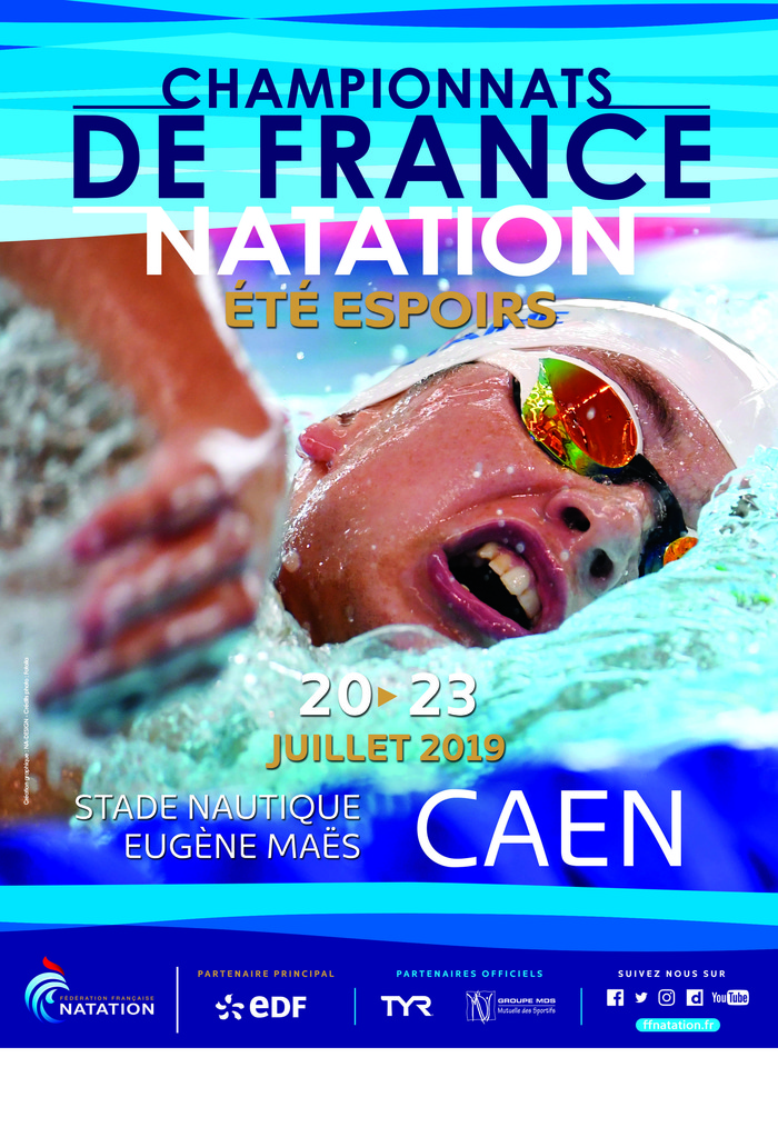 Championnats de France Espoirs Natation CAEN