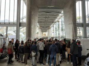Chantier de la gare Gare de Chambéry