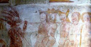 Visite commentée de la chapelle et de ses peintures murales Chapelle de la Poraire