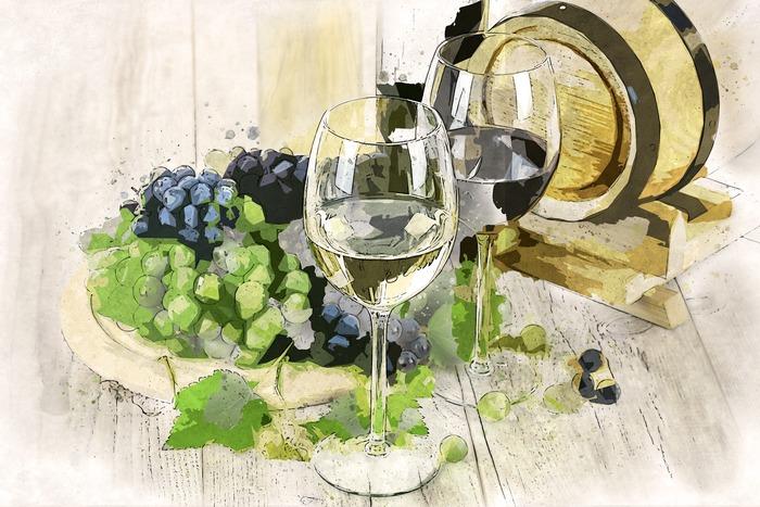 """Visite de l'exposition """"Vive la vigne et le vin"""" Château de la Fresnaye"""