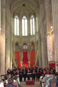 Chorale AM Javouhey - Les trompes de la Nonette - Les petits chanteurs - Marc Sacrispeyre - Collegium - Deus Tecum - Stéphanie Lefebvre Cathédrale