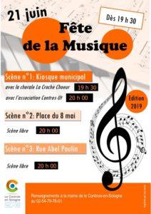Chorale La Croche Choeur avec l'association Contres-Ut Kiosque municipal