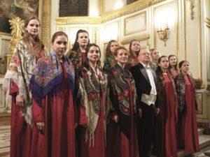 Chœur Féminin Rimsky-Korsakov de Saint-Pétersbourg Abbatiale d'Aubazine