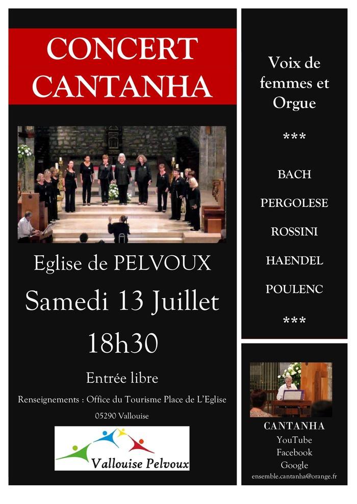 Concert CANTANHA Eglise de Pelvoux