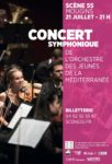 Concert de l'Orchestre des Jeunes de la Méditerranée Scène 55
