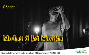 """Concert : """"Notes à La Mothe"""" par Chance Temple protestant de La Mothe"""