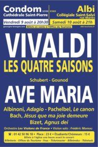 Concert Vivaldi Collégiale Saint-Salvi