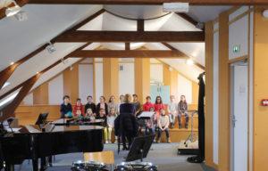 Atelier formation musicale Conservatoire à rayonnement départemental Marcel Landowski