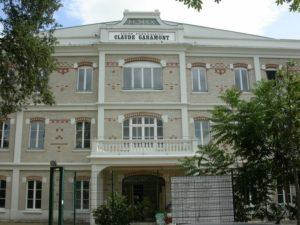 De Kerkoff à Garamont Lycée Claude-Garamont