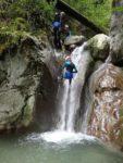 Découverte du canyoning (Canyon Ecouges 2) La Rivière
