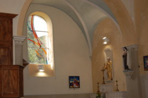 Démonstration de la restauration d'un vitrail ou d'une création Atelier Gormand-Duval