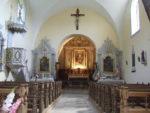 Démonstration du travail d'un doreur ornemaniste Église de Coulans-Refranche