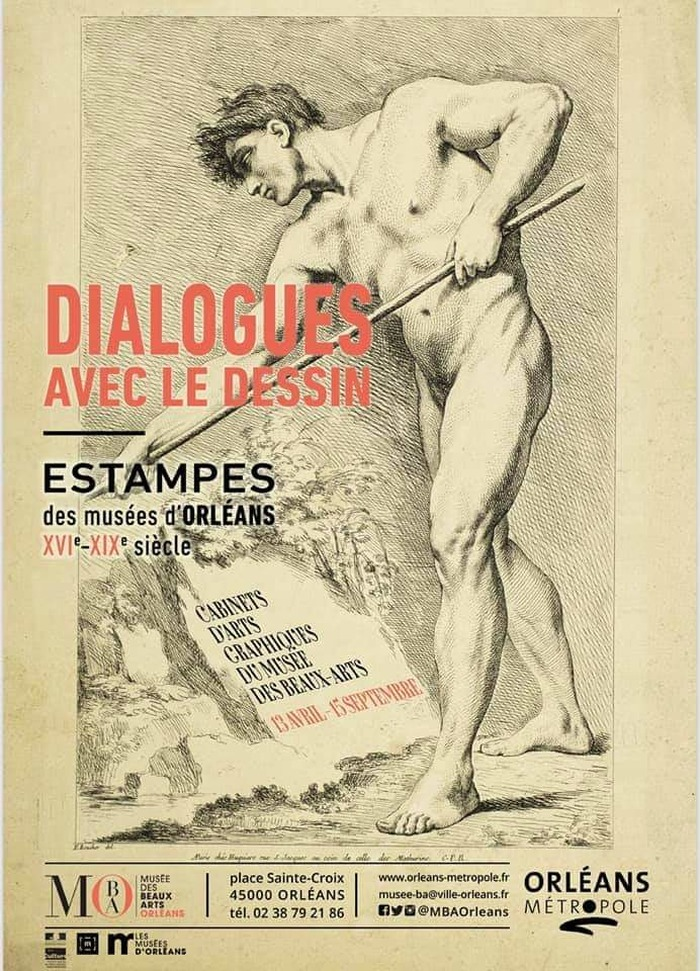 Visite guidée du cabinet d'art graphique du XVIIIe siècle Musée des Beaux Arts