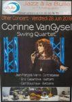 Dîner-concert avec Corinne Van Gysel Quartet JAZZ à la BULLE