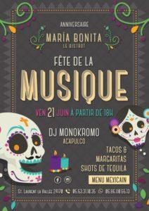 DJ Monokromo d'Acapulco-Mexique 24170 Saint Laurent la Vallée