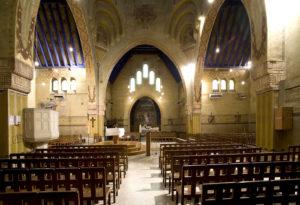 Déambulation commentée dans la cité-jardin du Chemin-Vert. Eglise Saint-Nicaise