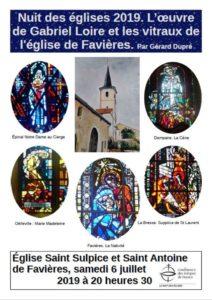 Eglise Saint-Sulpice-et-Saint-Antoine de Favières
