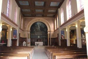 Visite guidée de l'église Sainte-Elisabeth-de-Hongrie Église Sainte-Élisabeth-de-Hongrie