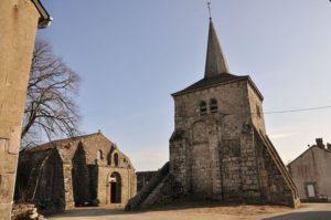 Eglise Ste Croix et St Martial de Toulx Ste Croix