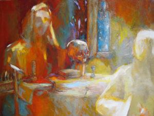 Exposition d'art contemporain Manoir de Pacé  (l'abbaye des Templiers)