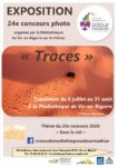 """Exposition du 24e Concours photo: """"Traces"""" Médiathèque de Vic"""