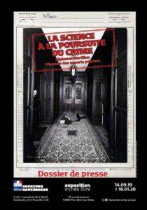 """Exposition """"La science à la poursuite du crime. Alphonse Bertillon"""