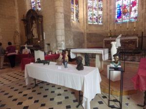 Exposition peintures et sculptures Eglise Saint-Pierre-Saint-Paul