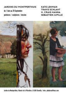 Exposition : Quatre artistes aux Jardins du Montperthuis Manoir de la Pillardière