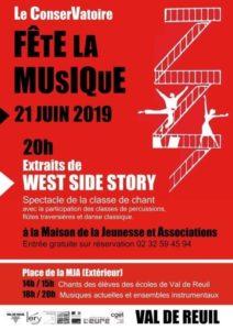 Extraits de West Side Story Maison de la Jeunesse et Associations