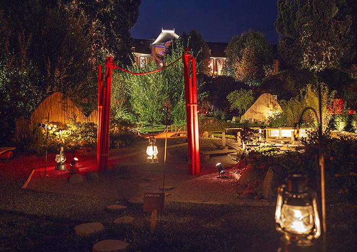 Féerie Nocturne au Jardin Parc de Wesserling - Ecomusée textile