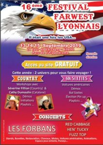Festival farwest lyonnais Parc de l'hippodrome