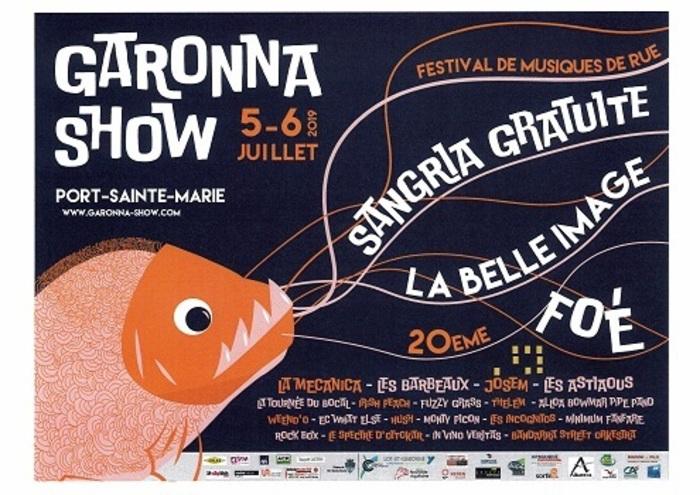 Festival Garonna Show Garonna Show - Port-Sainte-Marie