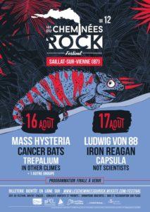 Festival Les Cheminées Du Rock Les Cheminées Du Rock - Saillat-Sur-Vienne