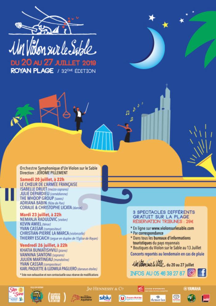 Festival Un Violon sur le Sable Un Violon sur le Sable - Royan