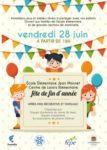 Fête de fin d'année - Vendredi 28 juin Centre de Loisirs Maternelle