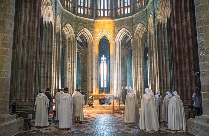Fête de la Transfiguration Abbatiale du Mont-Saint-Michel